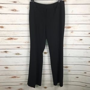 WHBM Black Trouser Dress Pants Career NEW